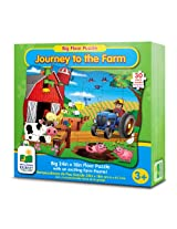 The Learning Journey Big Floor Puzzles - Journey to The Farm Playset