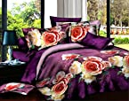 Story@Home Designer Choice Impressia Polycotton Double Bedsheet with 2 Pillow Covers -  Gemini (AIM1252)