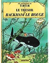 TINTIN PETIT FORMAT 12 - LE TRESOR DE RACKHAM LE R (Aventures de Tintin)