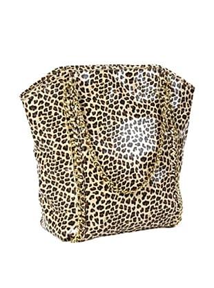 Amrita Singh Bolso Shopping Cheeta Marrón