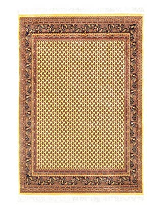 Persian Rug, Light Yellow, 4' 7