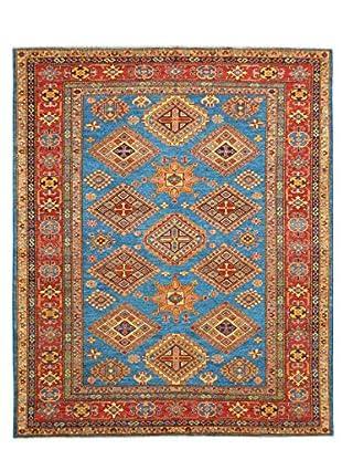 Kalaty One-of-a-Kind Kazak Rug, Blue, 6' x 8' 4