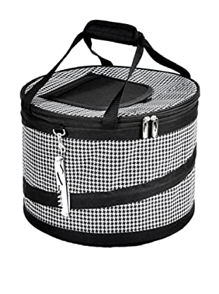 Picnic at Ascot Compact Pop-Up Cooler (Houndstooth)