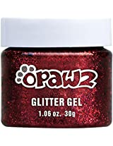 Opawz Pet Color Glitter Gel (Red)