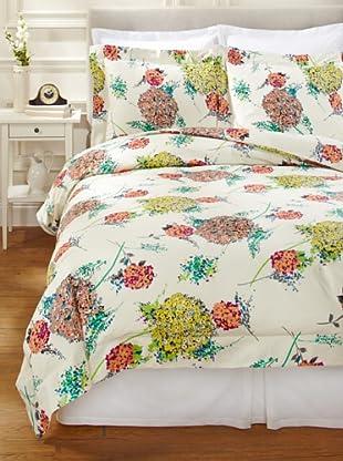 SFERRA Hydrangea Duvet Cover Set