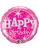 Qualatex Disney Frozen Pink Sparkle Party Balloon Decoration Kit