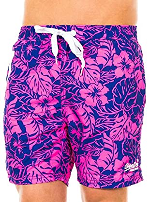Superdry Shorts da Bagno Premium Print Waterpolo