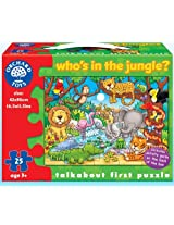 Orchard Toys Who'S Under the Jungle, Multi Color