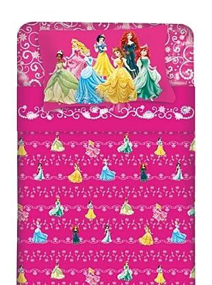Disney Betttuch und Kissenbezug Princess