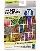 RoseArt Graphic Skinz Transfers Refill Animal Print Toy