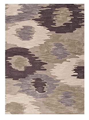 Jaipur Rugs Hand-Tufted Abstract Rug (Gray/Ivory)