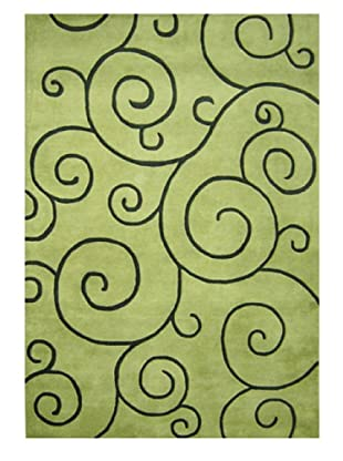 Alliyah Rugs Alliyah Collection (Lime/Turf Green)