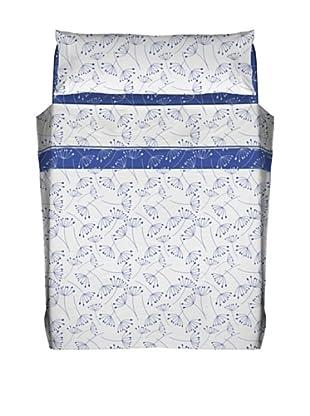 Javier Larráinzar Juego de Sábanas Cotton (Azul)