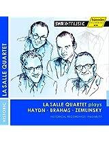LaSalle Quartet Plays [LaSalle Quartet] [HANSSLER CLASSIC: 94.228]