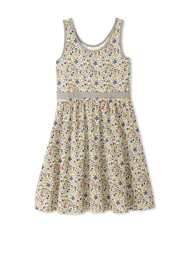 Soft Clothing Girl's Carla Tank Dress (Floral)