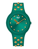 H2X One Studs Analog Green Dial Unisex watch - SV400XV6
