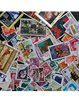 100 PCS/lot Postage Stamps From All Over the world ,all Used For Collection