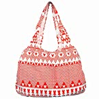 Be For Bag Cotton Canvas Resort Tote Bag - B4B-Elden (Red)