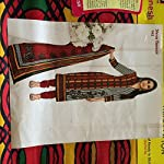 Multi Striped Cotton Dress Material With Dupatta