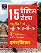 15 Practice Sets Indian Railways Junior Engineer Bharti Pariksha ELECTRONICS