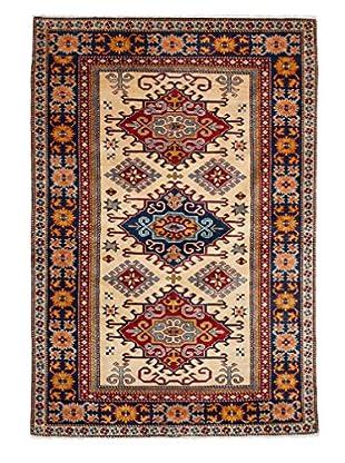 Darya Rugs Fine Kazak Oriental Rug, Red, 4' x 5' 10