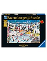 Ravensburger Shinny in Trinity Canadian Collection Canadienne Puzzle (1000-Piece)