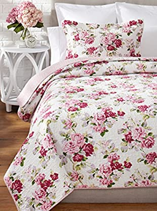 Laura Ashley Lidia Quilt Set (Pink)