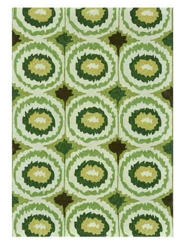 Loloi Rugs Enzo Collection Indoor/Outdoor Rug (Lime)