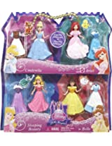 Mattel L4623 Disney Princess Favorite Moments 4-Pack Giftset-Styles May Vary