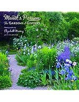 Monet's Passion 2015 Mini Wall Calendar