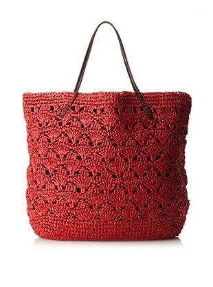 Michael Stars Lace Crochet Tote (Blaze)