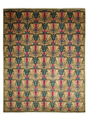 Darya Rugs Suzani Oriental Rug, Pink, 8' 2
