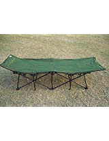 """Amaze"" Folding Camping Bed Green"