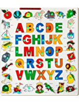 Little Genius Alphabets Object Match Up Puzzle, Multi Color