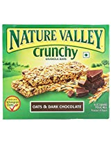 Nature Valley Crunchy Granola Bars, Oat and Dark Chocolate, 253g