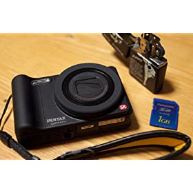 PENTAX �f�W�^���J���� Optio RZ10 1400����f 28mm ���w10�{ 1cm�}�N�� �f�W�^���J����