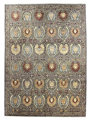 Bashian Rugs One-of-a-Kind Hand Knotted Manali Rug, Grey, 8' x 10' 1