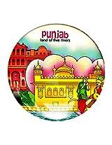 Indiavibes Designer Badge with Punjab 2 Theme