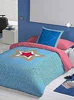 Lief! Juego De Funda Nórdica Big Star (Azul / Blanco)