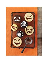 Martha Stewart Crafts Pumpkin Face Cupcake Stencils