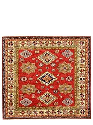 Kalaty One-of-a-Kind Kazak Rug, Rust, 6' x 6' 1