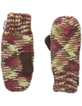 Muk Luks Women's Knit Mittens In Three Color Marl