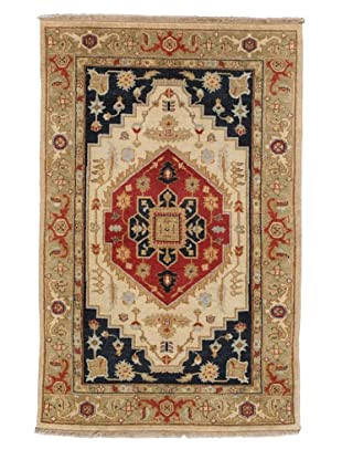 Rug Republic One Of A Kind Hand Knotted Traditional Rug, Multi, 3' 9