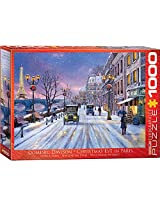 Euro Graphics Christmas Eve In Paris Puzzle (1000 Piece)