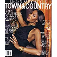 TOWN & COUNTRY March 2017 小さい表紙画像