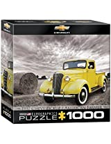 Euro Graphics 1937 Chevy Pickup Truck Jigsaw Puzzle (Small Box) (1000 Piece) By Eurographics Toys