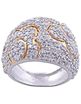 BJ JEWELS R148 92.5% Sterling Silver Ring For Women