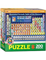 EuroGraphics Periodic Table Illustrated Jigsaw Puzzle (200-Piece)
