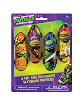 Mini Teenage Mutant Ninja Turtles Skateboard Party Favors, 4ct