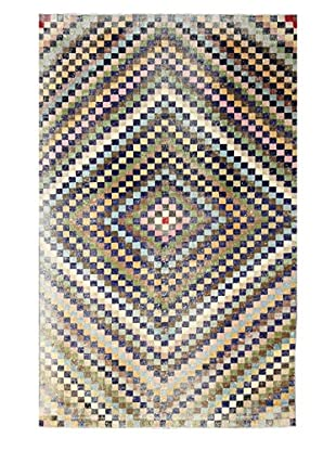 nuLOOM One-of-a-Kind Hand-Knotted Vintage Turkish Overdyed Rug, Multi, 6' 9
